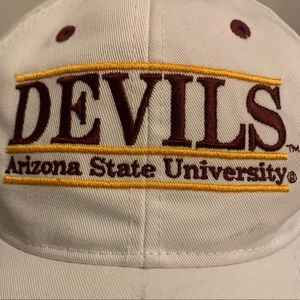 The Game Accessories - Vintage '95 ASU Devils Bar Hat Spellout Snapback
